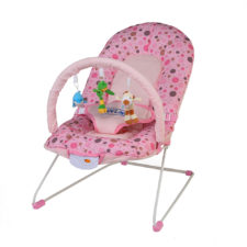 LuvLap Baby Bouncer 8043T Sunshine - Pink