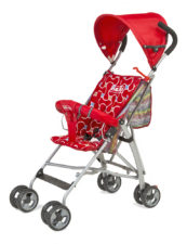 LuvLap Baby Buggy Sunshine 1004C Red