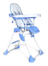 LuvLap Baby High Chair 8083 Comfy Blue