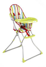 LuvLap Baby High Chair 8113 Sunshine Green