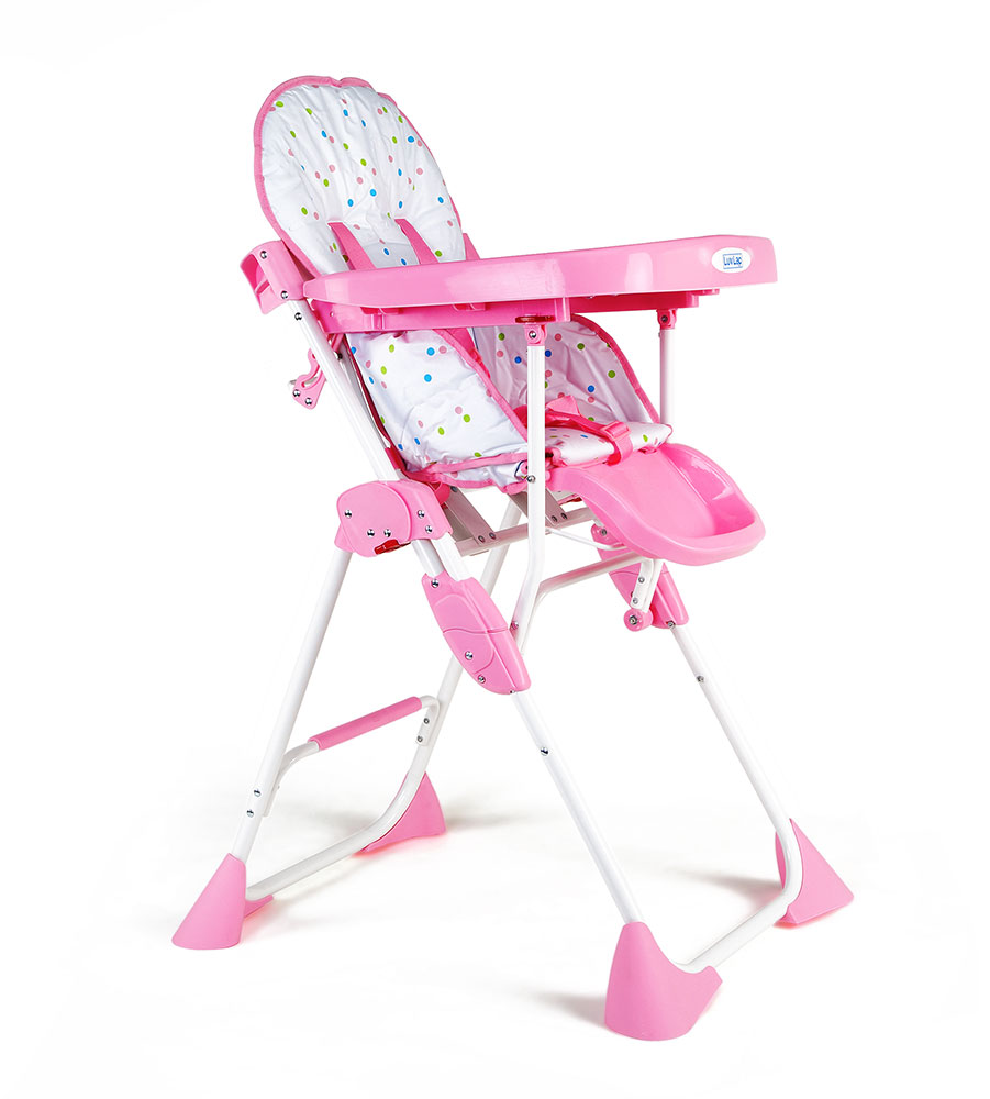 Buy Luvlap Baby High Chair Comfy 8083 Pink Online In India