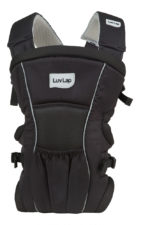 LuvLap Blossom Baby Carrier - Black