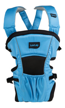 LuvLap Blossom Baby Carrier - Blue