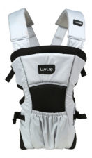 LuvLap Blossom Baby Carrier - Grey