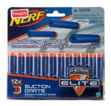 Nerf N-Strike Elite Suction Darts Pack of 12