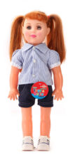 Senorita Doll Blue With Shorts