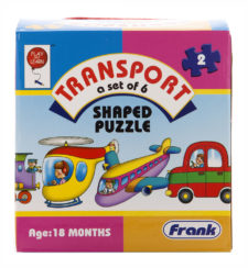 Transport Shaped 2 Pcs Puzzle