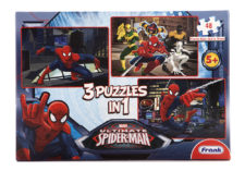 Ultimate Spiderman 3 Puzzles In 1  48 Pcs