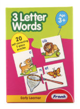 3 Letter Words For Early Learner