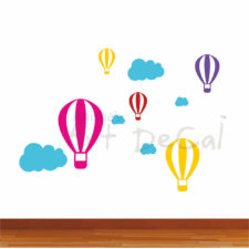 Balloon In The Sky Them Wall Decal