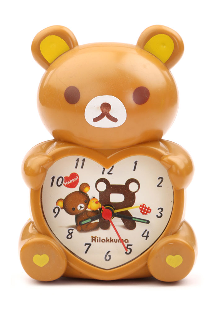 Buy Bear Table Clock Small Brown Online In India
