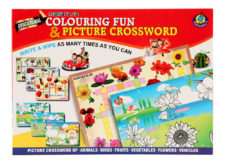 Colouring Fun And Picture Crossword