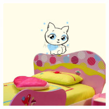 Cute Cat Activity Wall Decal Kd2026