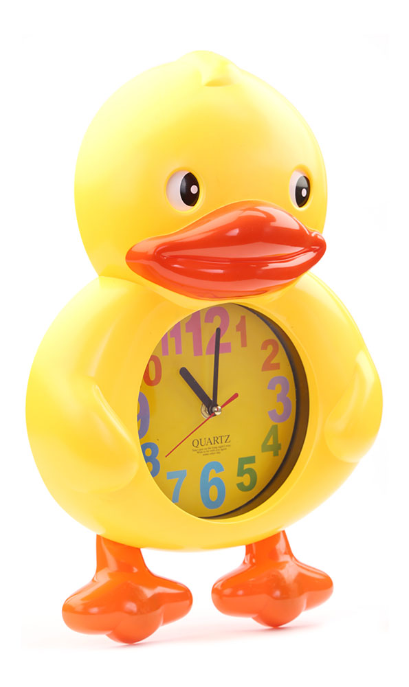 Buy Duck Wall Clock Yellow With Yellow Dial Online In