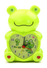 Frog Table Clock Small - Green