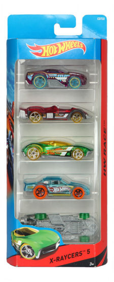 Hotwheels 5 Cars Pack