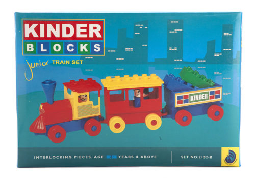 Kinder Block Junior Train Set No 2152-B