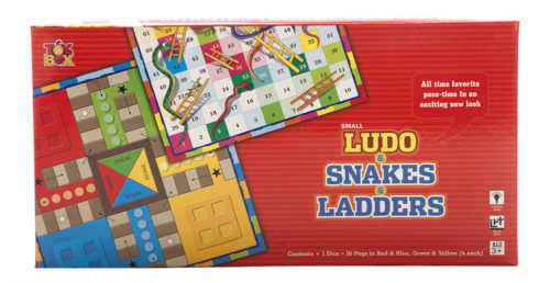 Ludo, Snakes & Ladders Small