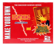 Make Your Own Lightning Machine And Room Alarm