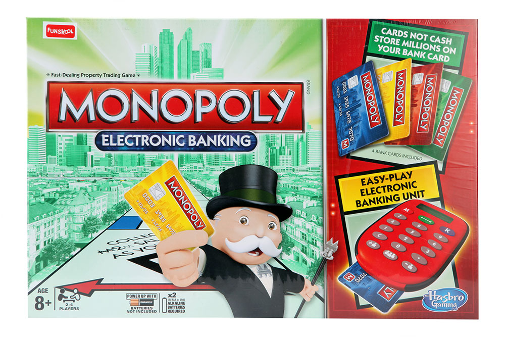 Buy Monopoly Electronic Banking Online In India Kheliya Toys