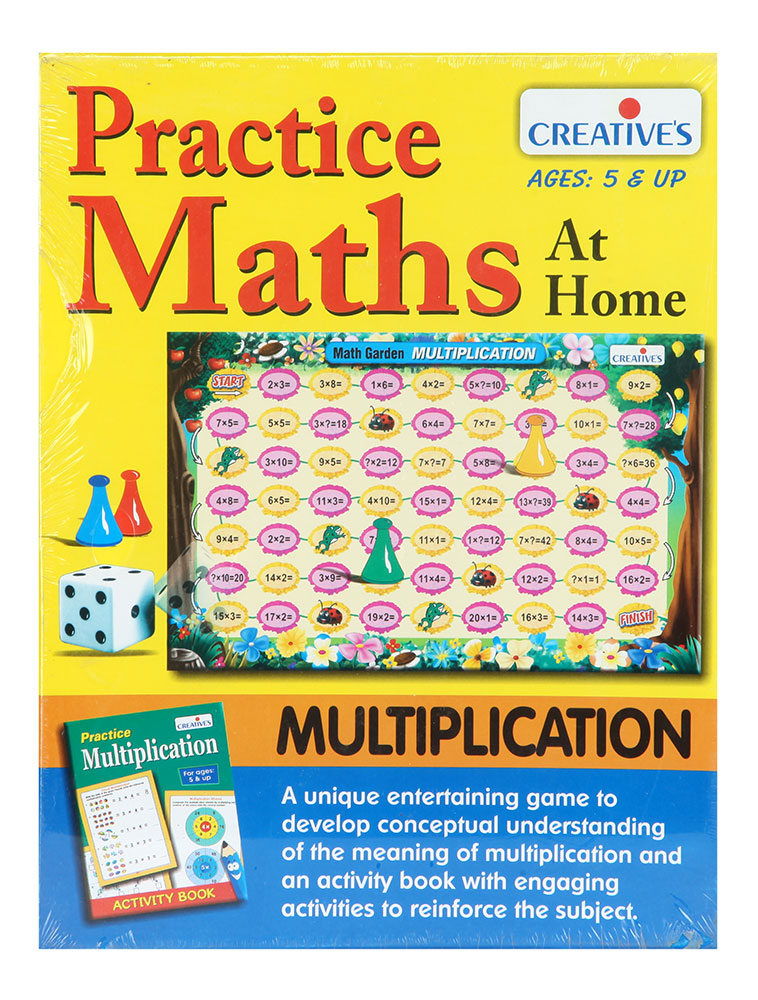 Game Toys To Practice : Buy practice maths multiplication online in india