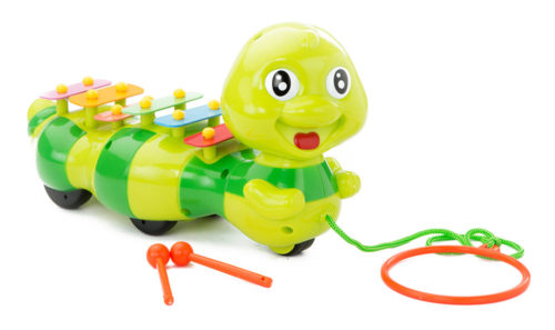 Pull Along Caterpillar With Xylophone