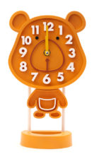 Rabbit Table Clock - Brown