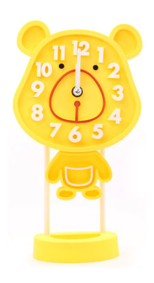 Rabbit Table Clock - Yellow