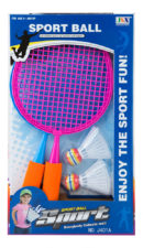 Racket Set Plastic With Shuttle