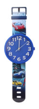 Wrist Watch Shaped Wall Clock Big - Blue