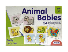 Frank Animal Babies Puzzle