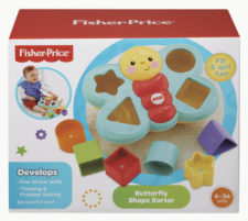 Fisher-Price Butterfly Shape Sorter CDC22