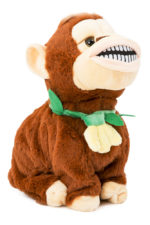 Dancing Soft Monkey With Music - Brown 27467