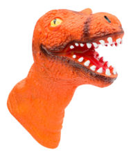 Dinosaur Puppet - Orange