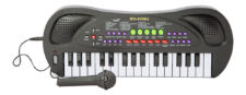 Electric Piano With 32 Keyboard - Black