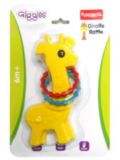 Funskool Giraffe Rattle -Yellow