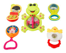 Learning Fun Rattle Frog 5 Pcs