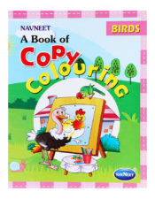 Navneet A Book Of Copy Colouring - Birds