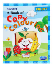 Navneet A Book Of Copy Colouring - Fruits