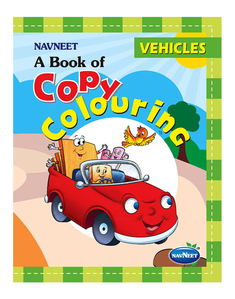 Buy Navneet A Book Of Copy Colouring Vehicles Online In