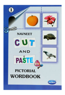 Navneet Cut And Paste Pictorial Work Book Part-1