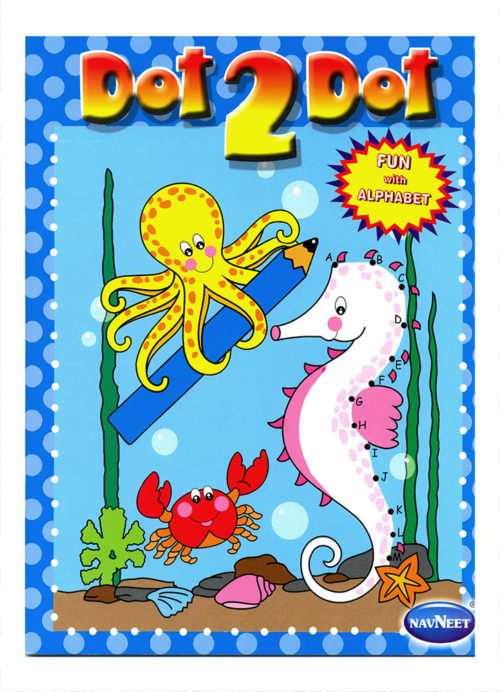 Navneet Dot 2 Dot Fun With English Alphabets