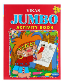Navneet Vikas Jumbo Activity Book Part-1