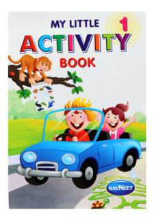 Navneet My Little Activity  Book Part-1