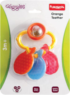 Funskool Orange Teether