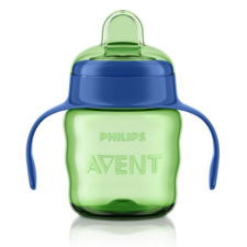 Philips Avent Classic Soft Spout Cup 200ml Green-Blue