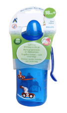 Philips Avent Fast Flow Spout Cup Deco 340ml - 18 months Blue