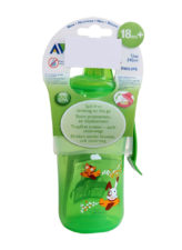 Philips Avent Fast Flow Spout Cup Deco 340ml - 18 months Green