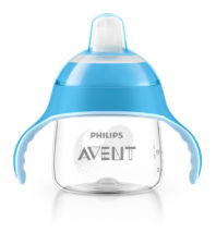Philips Avent Premium Soft Spout Cup 200ml 6 Months Blue