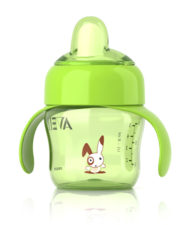 Philips Avent Spout Cup 200ml - 6 Months Green